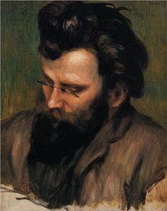 Portrait of Charles Terrasse - Pierre-Auguste Renoir