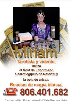 #Tarotista y #Vidente especialista en #TarotdeLenormand #RecetasMágicas