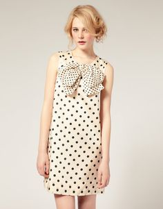 polka dot dress on ASOS.com