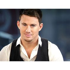 Swoon Alert! 10 Hot Photos of Channing Tatum SLY SMILE ❤ liked on Polyvore featuring people, channing tatum, guys and men