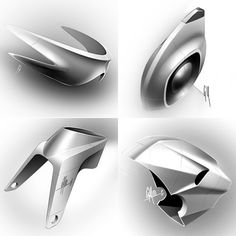 Its a quickie today Californiabased industrial designer George Yoo has taken a theme and run absolutely wild with it creating some of the most amazing chiaroscuro graysca. Id Design, Form Design, Sketch Design, Shape Design, Design Model, Auto Design, Design Concepts, Graphic Design, Sketch Inspiration
