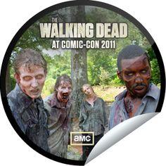 Walking Dead GetGlue Sticker