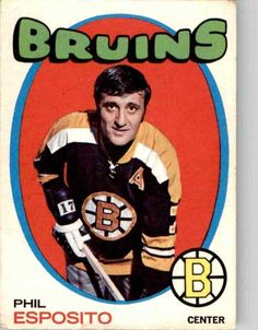 O-Pee-Chee Phil Esposito Boston Bruins Hockey Girls, Hockey Mom, Ice Hockey, Hockey Stuff, Boston Bruins Hockey, Pittsburgh Penguins Hockey, Chicago Blackhawks, Phil Esposito, Hockey Pictures