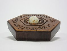 Inspiration Dice Display Hexagonal Dice Dice Box by MythicMakings