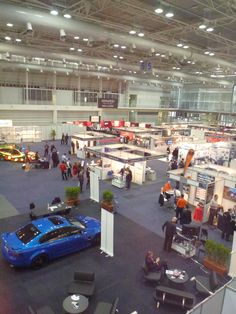 View from the top at Security 2011.