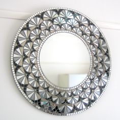 """Deco Bloom"" mosaic mirror by Mirror Envy"