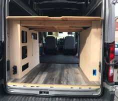 Everyone has a different approach on van flooring. Our van flooring of choice was vinyl plank flooring. Here's how we installed it in our Ford Transit van. Build A Camper Van, Diy Camper, Camper Ideas, Ford Transit Conversion, Camper Van Conversion Diy, Vauxhall Vivaro Camper, Ford Transit Campervan, Waterproof Vinyl Plank Flooring, Vinyl Flooring Installation