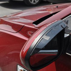 for Mazda CX-5 CX-5 2012 2013 2014 2015 Side Door Mirror Sun Visor Rain Shade Awnings Exterior Mouldings Trim 2pcs