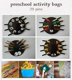 Preschool Activity Bags | Walking by the Way