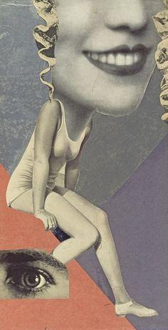 Hannah Höch, Für ein Fest gemacht (Made for a Party) 1936 Whitechapel Gallery