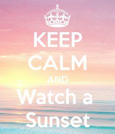 Watch a Sunset