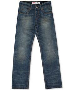 Levi's Boys' Husky Fit 514 Straight Jeans