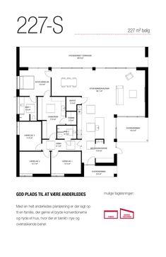 227 kvm special-hus med stor overdækket terrasse og plads til hele familien