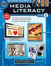 This 144-page lesson plan book helps students learn to think critically about the thousands of media messages they encounter each day via art, music, video games, radio, TV, websites, newspapers, magazines, ads, and packaging. Standards-based lessons require students to deconstruct, examine, discuss, and create media messages.