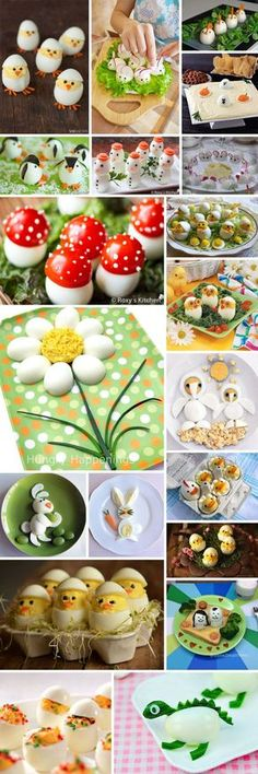 How to serve eggs? Great ideas :)- How to serve eggs? Great ideas 🙂 How to serve eggs? Cute Food, Good Food, Yummy Food, Awesome Food, Food Design, Design Ideas, Easter Recipes, Baby Food Recipes, Food Carving