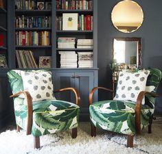 vintage jindrich halabala armchairs image by Erica Davies