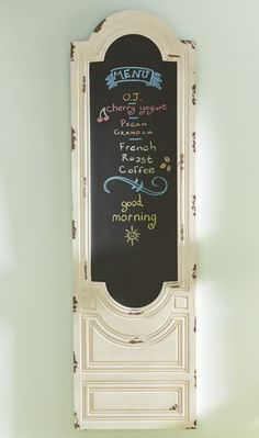 Arched Chalkboard Panel from Through the Country Door® | NI720158