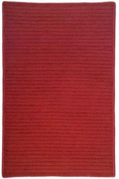 Solid Area Rug - Area Rugs - Floor Coverings - Synthetic Rugs - Braided Rugs | HomeDecorators.com