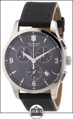 Victorinox Swiss Army - Reloj cronógrafo de cuarzo para hombre con correa de piel, color beige de  ✿ Relojes para hombre - (Gama media/alta) ✿