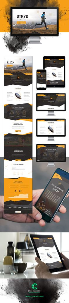 Stryd - Love the website, the presentation, and the orange...
