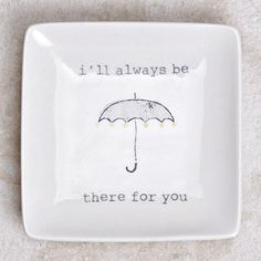 You know your friendship is true when you speak to one another in puns. Let a loved one know that you care, with a sweet little trinket dish that can be a const