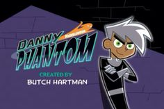 Danny Phantom title page. This is a screen shot; I do not own Danny Phantom.