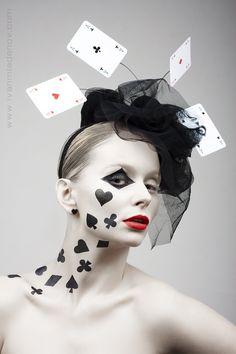 Poker face By: Ivan Mladenov -- easy Halloween costume idea!