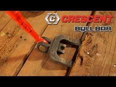 Bull Bar™ by Crescent® - How To Dismantle Decks and Pallets - YouTube