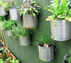 Great way to reuse cans