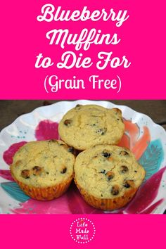 These Blueberry Muffins to die for are SO good!!