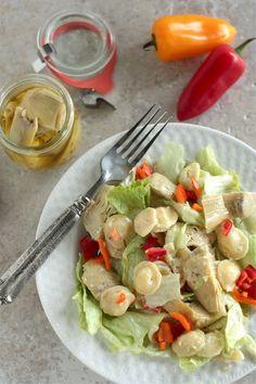 Artichoke Pasta Salad - www.countrycleaver.com