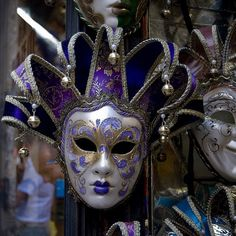 "The Venice 2014 Carnival started February 15 and the festival will run to March 4. The Venetian carnival tradition is famous for its distinctive masks and the grand finale for the festival's ""Best Costume Award"" takes place on March 2. Photo by @elen_g"