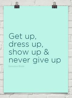never give up #quote