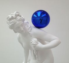 jeff koons gazing ball