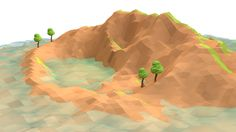 Lost Island (Low Poly) 3 by error-23.deviantart.com on @deviantART