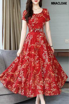Polka Dot Maxi Dresses, Cheap Maxi Dresses, Women's Dresses, Dresses Online, Summer Dresses, Long Dresses, Simple Dresses, Dress Silhouette, Designer Dresses