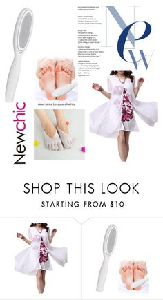 """Newchic"" by bellamonica ❤ liked on Polyvore"