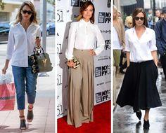 """Las camisas blancas son comodines que no pueden faltar en tu guardarropas. Las celebrities más fashionistas las eligen. En palabras de Carolina Herrera: """"Las puedes usar con o sin joyería, con jeans o con faldas cortas y largas. O llevarlas tanto para ocasiones especiales como también para el trabajo"""". ¿Y vos? ¿Ya tenés tu camisa blanca de Brandel? #Tendencias #Moda"""