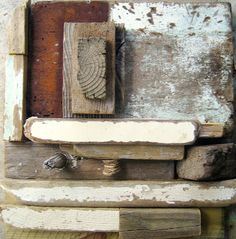 Driftwood Assemblage by Ngaio Lenz.