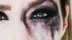 smeared makeup | ... scared and crying woman with smeared make up - HD stock video clip