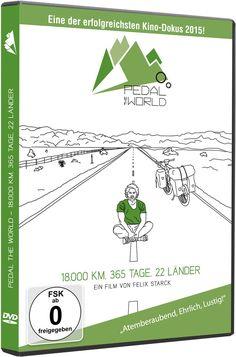 Pedal the World - 18.000km l 365 Tage l 22 Länder: Amazon.de: Felix Starck: DVD & Blu-ray