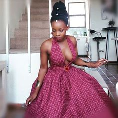 African Dresses This Season 2019 - style you 7 African Fashion Ankara, African Print Dresses, African Dress, African Traditional Wedding Dress, Traditional Dresses, Shweshwe Dresses, African Design, African Attire, Cute Summer Outfits