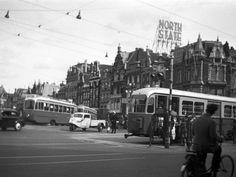 GVB Amsterdam 1000+491er, Lijn 9, Munt (1955) | Flickr - Photo Sharing!