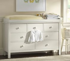 Kendall Extra-Wide Dresser & Changing Table Topper | Pottery Barn Kids