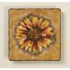 sunflower ceramic dinnerware set | Tuscan Sunflower Dinnerware