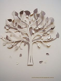 paper tree by Nela