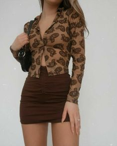 Retro Outfits, Cute Casual Outfits, Summer Outfits, Girl Outfits, Fashion Outfits, Fashion Ideas, Fashion Trends, 2000s Fashion, Look Fashion