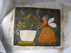 """Honey Girl"" ©Notforgotten Farm pattern available SOON!"