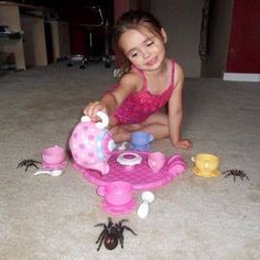 """Sees the fuel of many people's nightmares, """"would you like to join me for some tea?"""""""