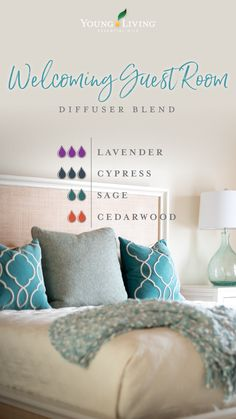 Essential Oils: Lavender Cypress Sage Cedarwood basic home decor 8 diffuser blends you've got to try: We have one for every room! Sage Essential Oil, Yl Essential Oils, Essential Oil Diffuser Blends, Young Living Essential Oils, Yl Oils, Citronella Essential Oil, Young Living Diffuser, Young Living Oils, Young Living Copaiba
